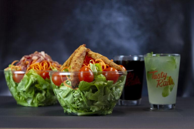 COMBO Almuerzo!! Tasty Salads!!